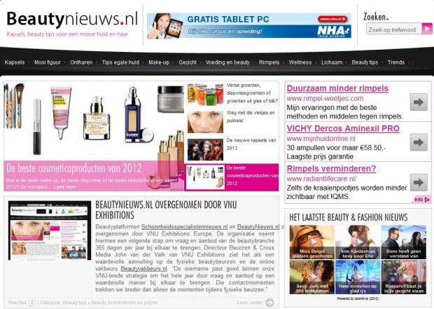 beautynieuws.nl van inge de munnik