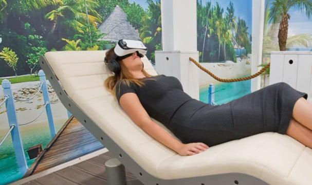 virtual reality schoonheidsbehandeling