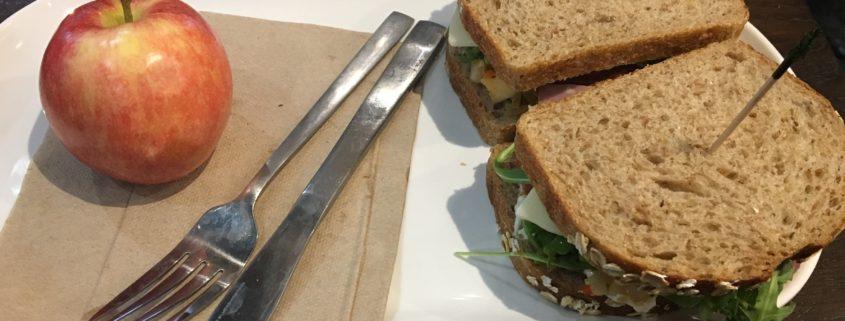 gezonde verse broodjes van Panera Bread Washington DC Verenigde Staten