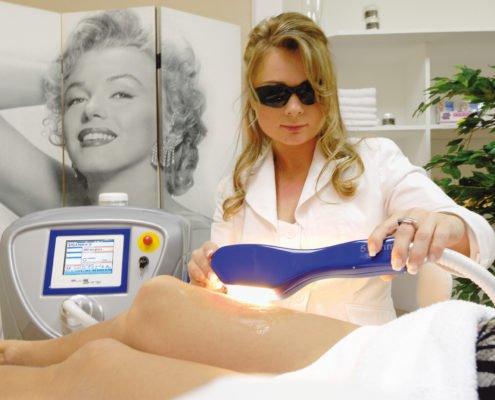 IPL en laserbehandelingen schoonheidsspecialist