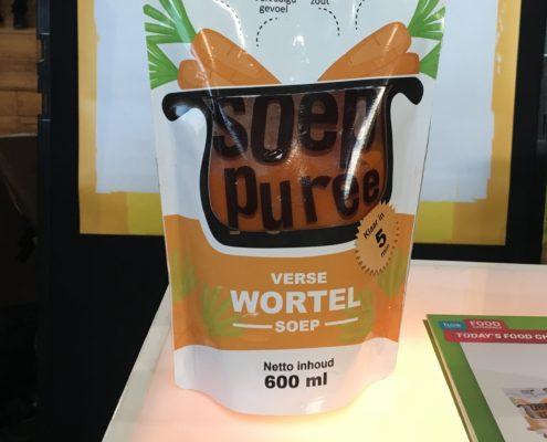 zoef verse wortelsoep gezonde food innovatie