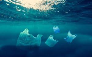 plastic in oceanen