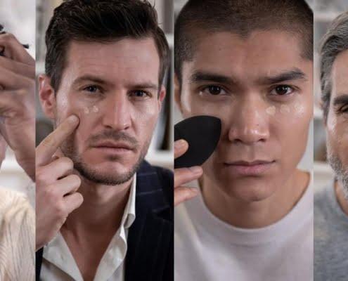 make-up voor mannen War Men